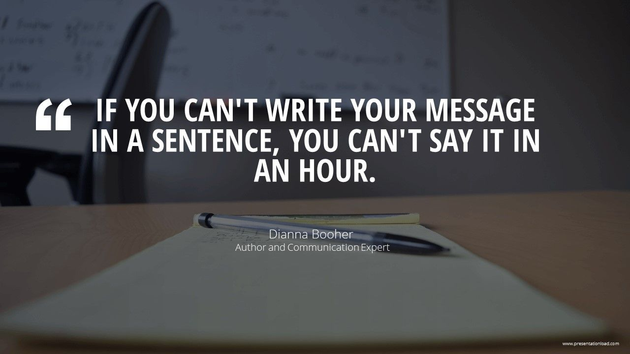 Develop A Key Message Keep It Short And Simple Inspire Quote Business Presentation Powe Business Inspiration Quotes Communication Quotes Business Quotes