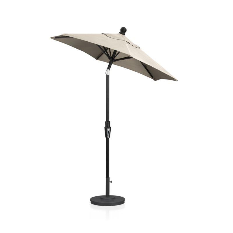 6\' Round Tilt Black Umbrella Frame   Black umbrella, Patio umbrellas ...