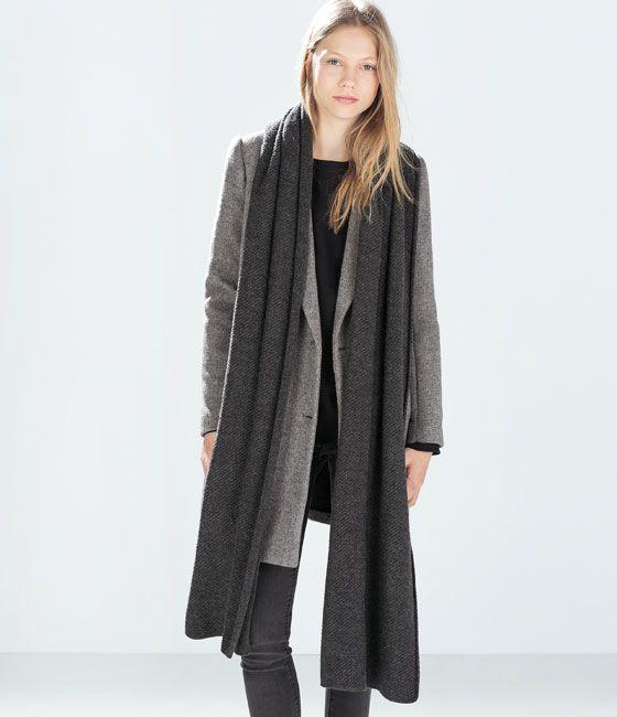 achten Sie auf großartige Qualität wo kann ich kaufen Image 2 of CASHMERE-FEEL SCARF from Zara 98x16 | SCARVES ...