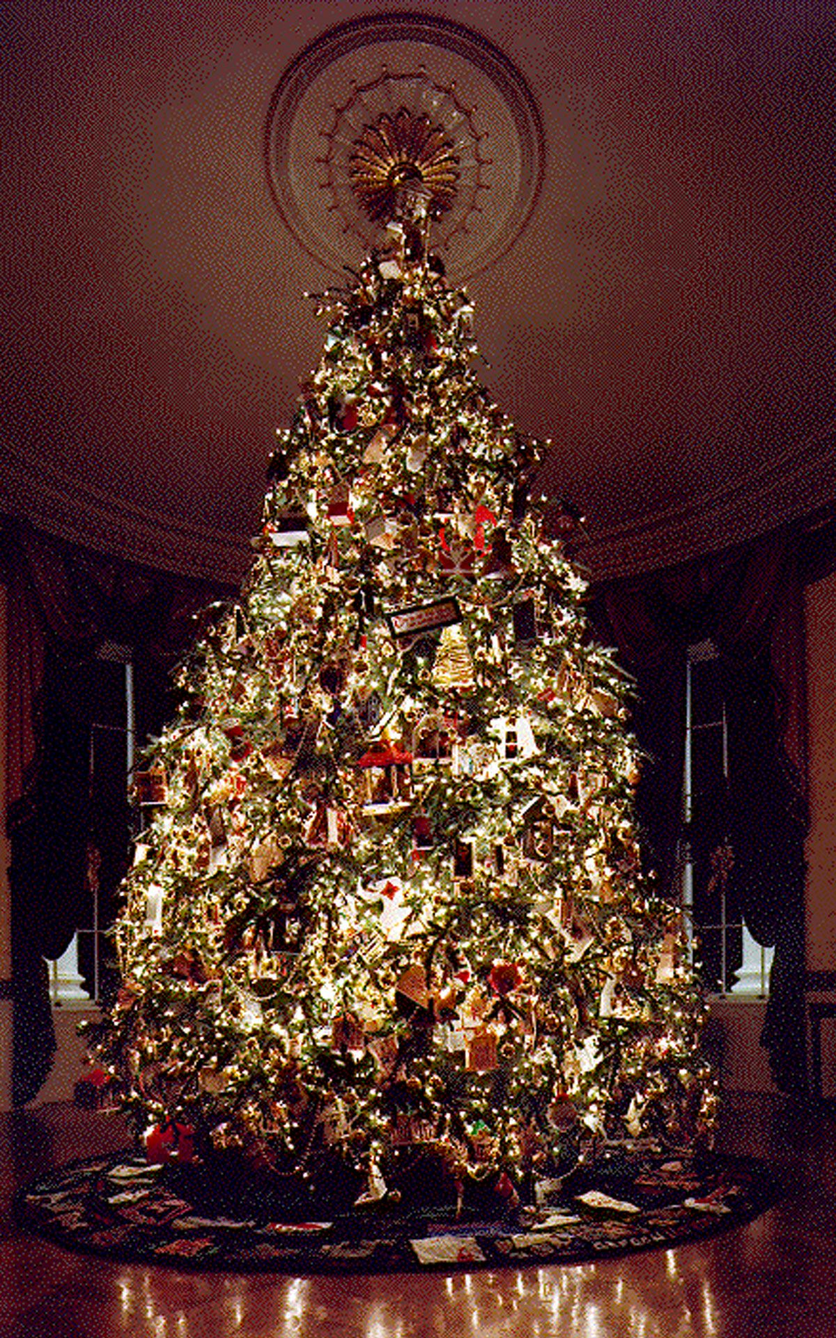Beautifully Decorated Luxury Living Room 3d Models: Christmas Tree Decorating Ideas 2013
