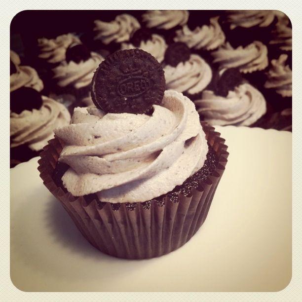 Oreo + Cupcake = Delicious!