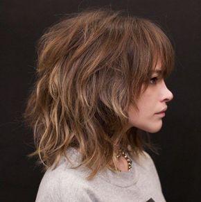 Feinste Shag Frisuren Die Strahlen In 2020 Shag Haarschnitt Frisuren