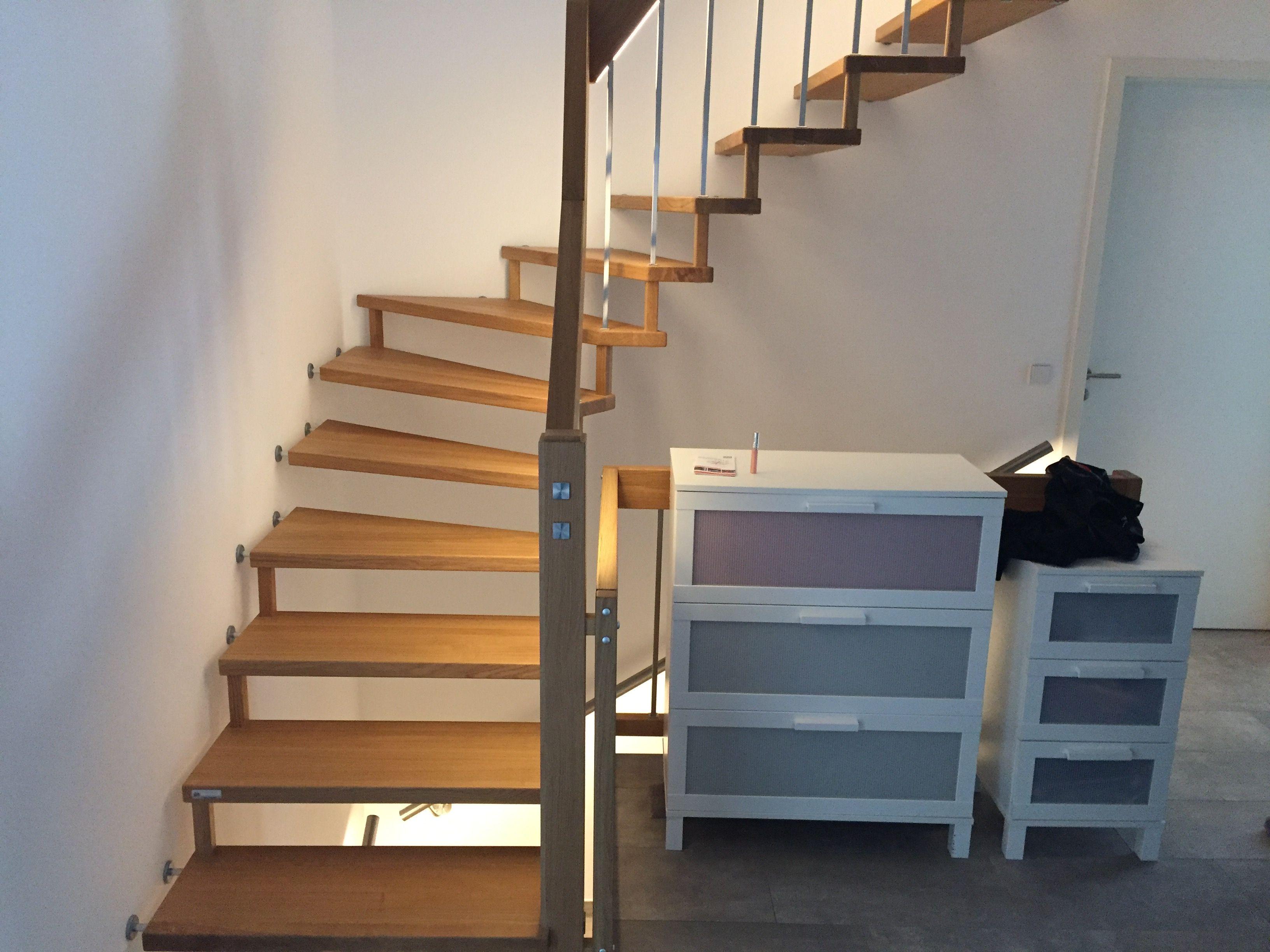 Treppen Bucher handlauftragende treppe im system bucher das original direkt