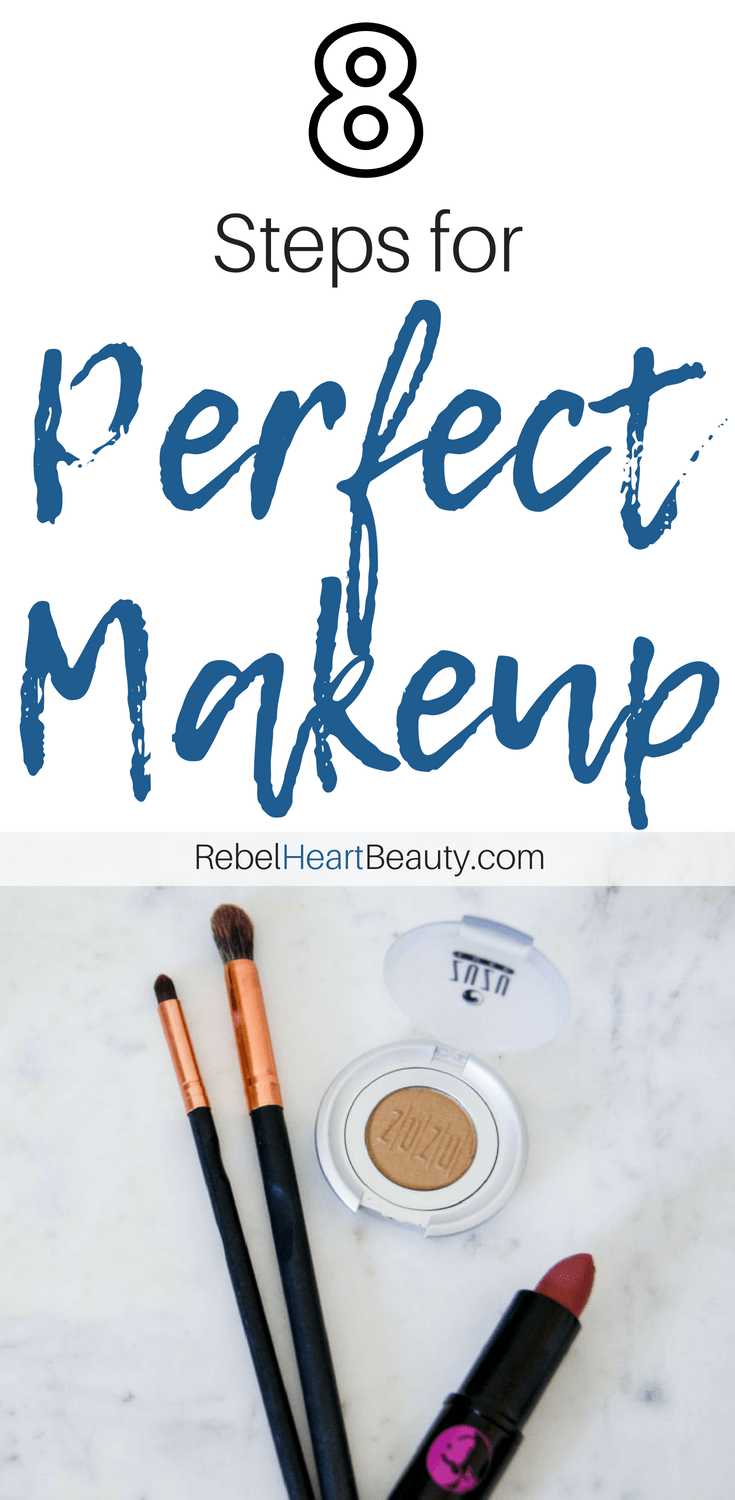 8 Steps for Perfect Makeup Application Using Natural