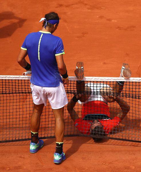 Rafael Nadal#Benoit Paire#Roland Garros#2017 29 notes | french open ...