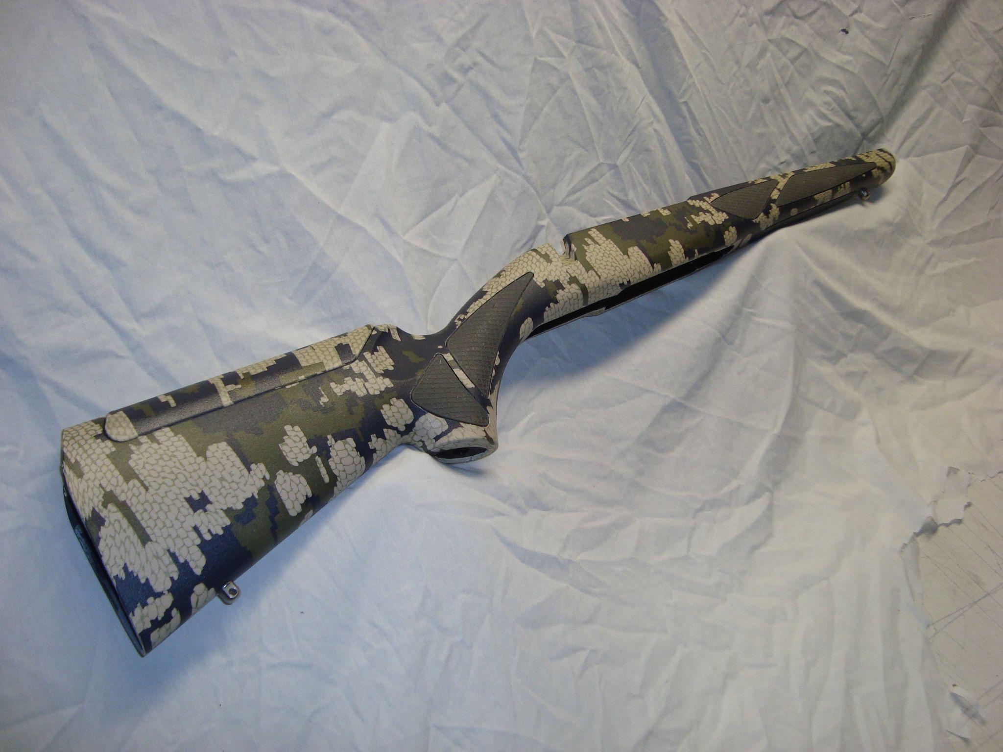 Kuiu Verde film gun stock