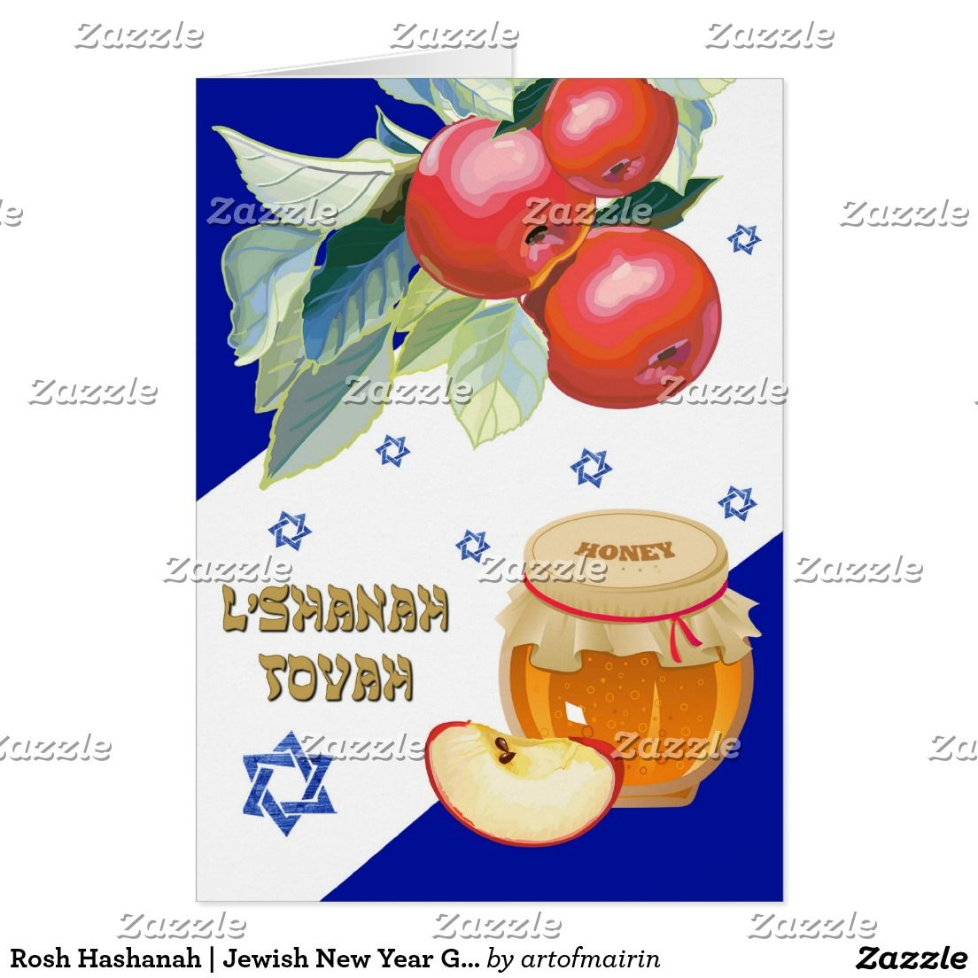 Rosh Hashanah Jewish New Year Greeting Cards Pinterest Rosh