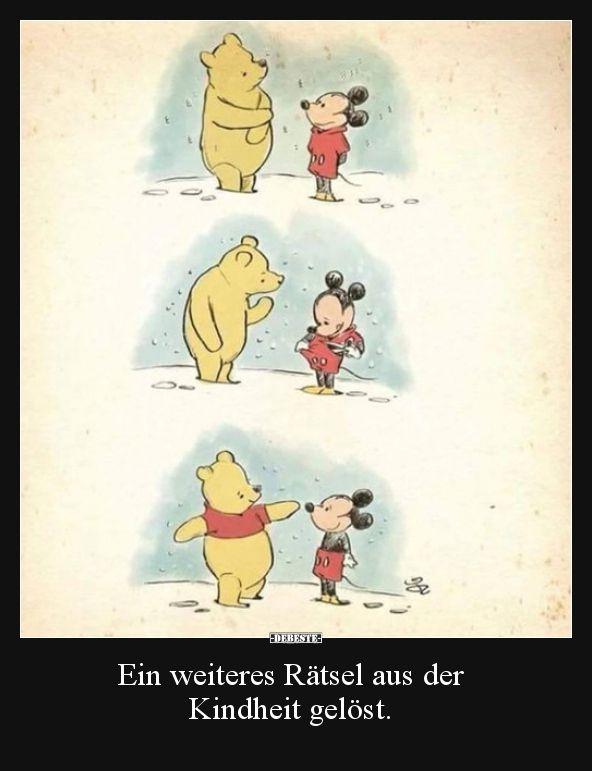 Ein weiteres Rätsel aus der Kindheit gelöst... | Lustige Bilder, Sprüche, Witze, echt lustig