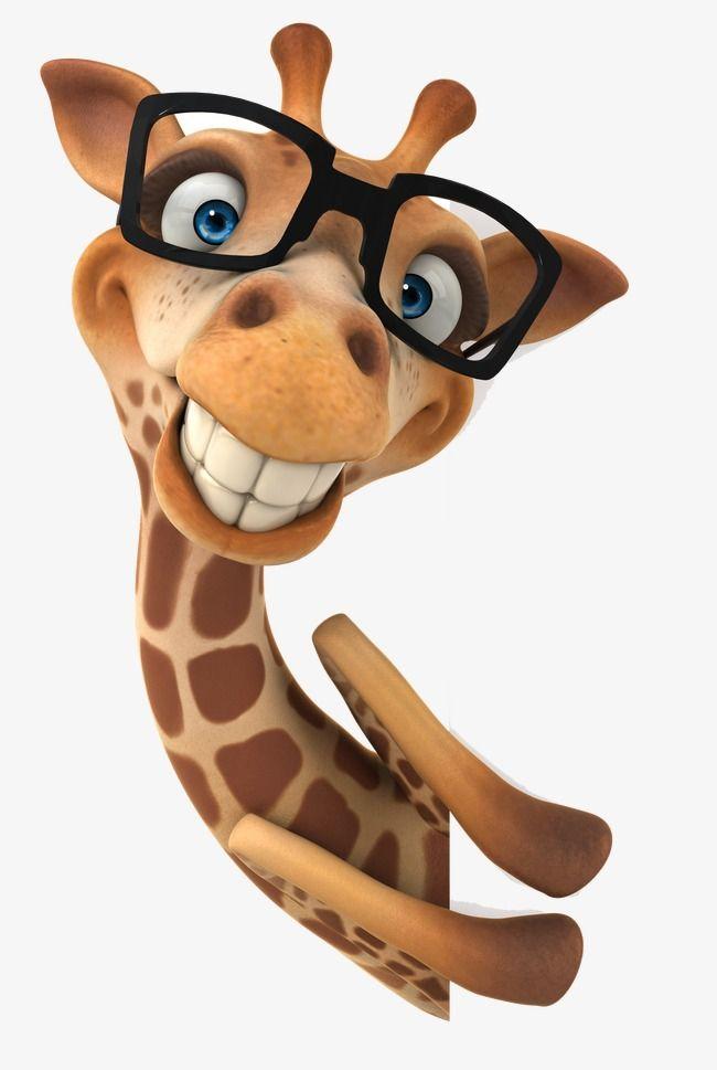 Three Dimensional Design 3d Giraffe Design Material