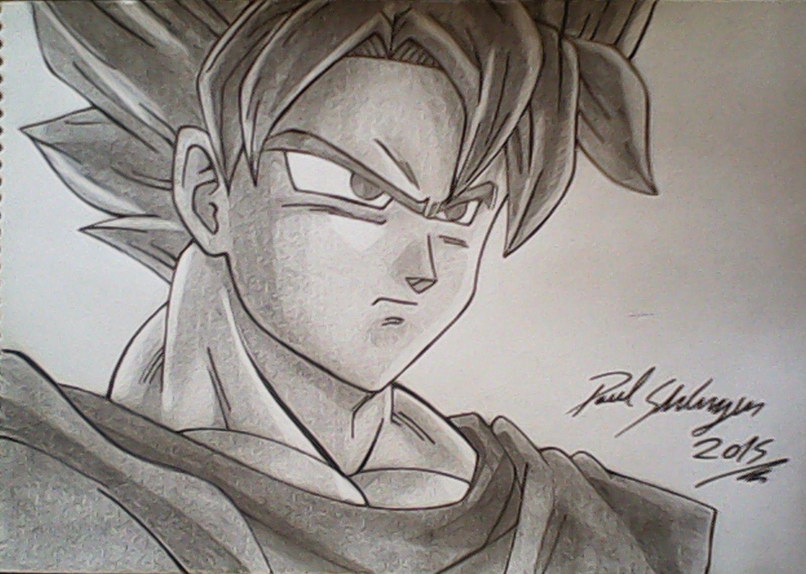 Dibujos De Goku Normal A Lapiz Buscar Con Google Goku A Lapiz Dibujo De Goku Esbozo De Dragon
