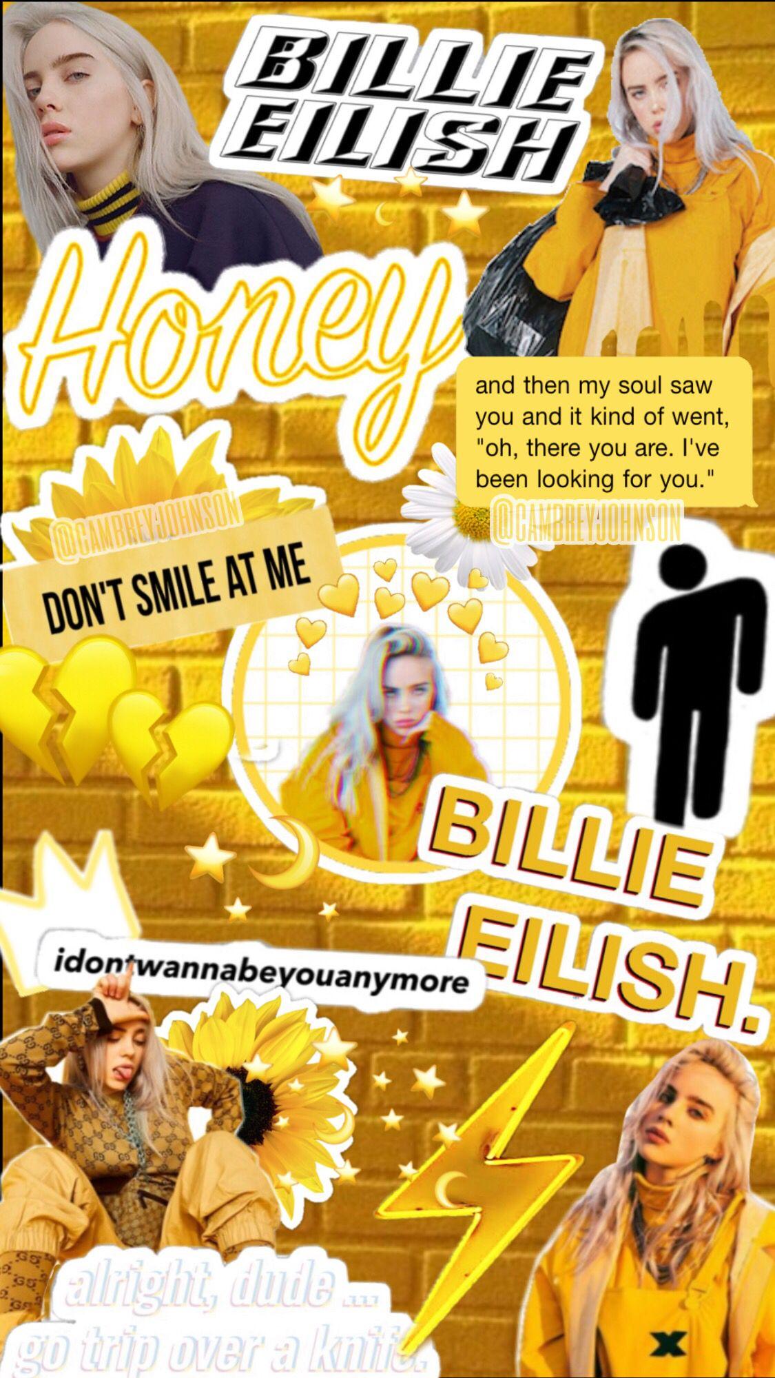 Ig Vsco Cambreyjohnson Billie Eilish Billie Wallpaper Quotes