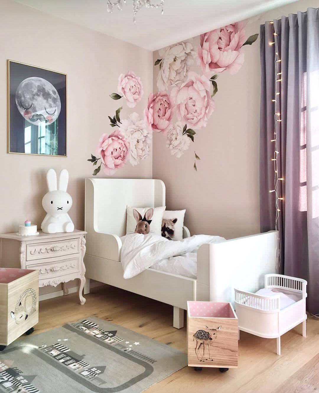 Kinderzimmer Inspiration für Mädchen Instagram