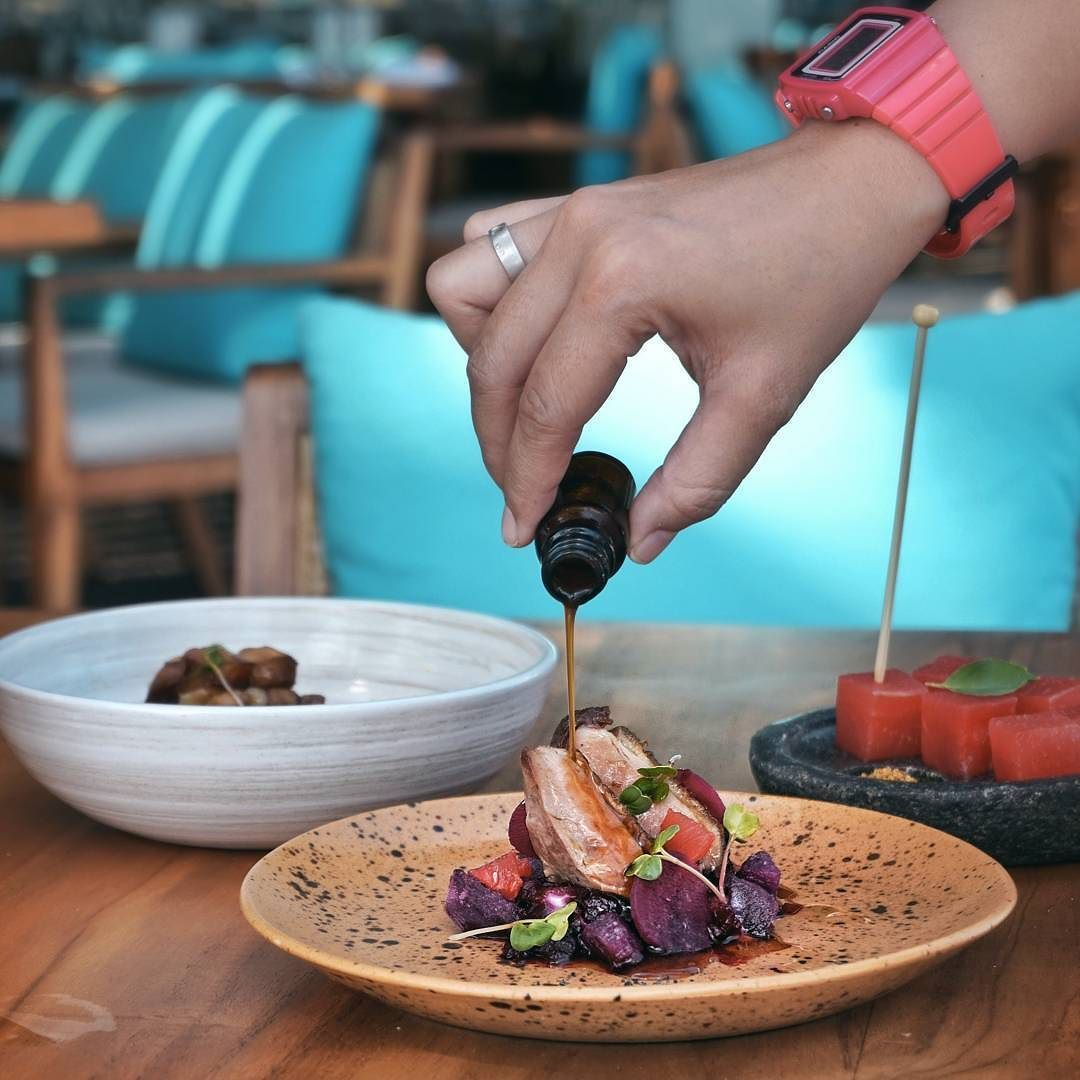 #Bali. Check this out Our new blog post: Fresh & Creative Coastal Dining at @SeasaltSeminyak  on foodcious.com link available at @bananakollective