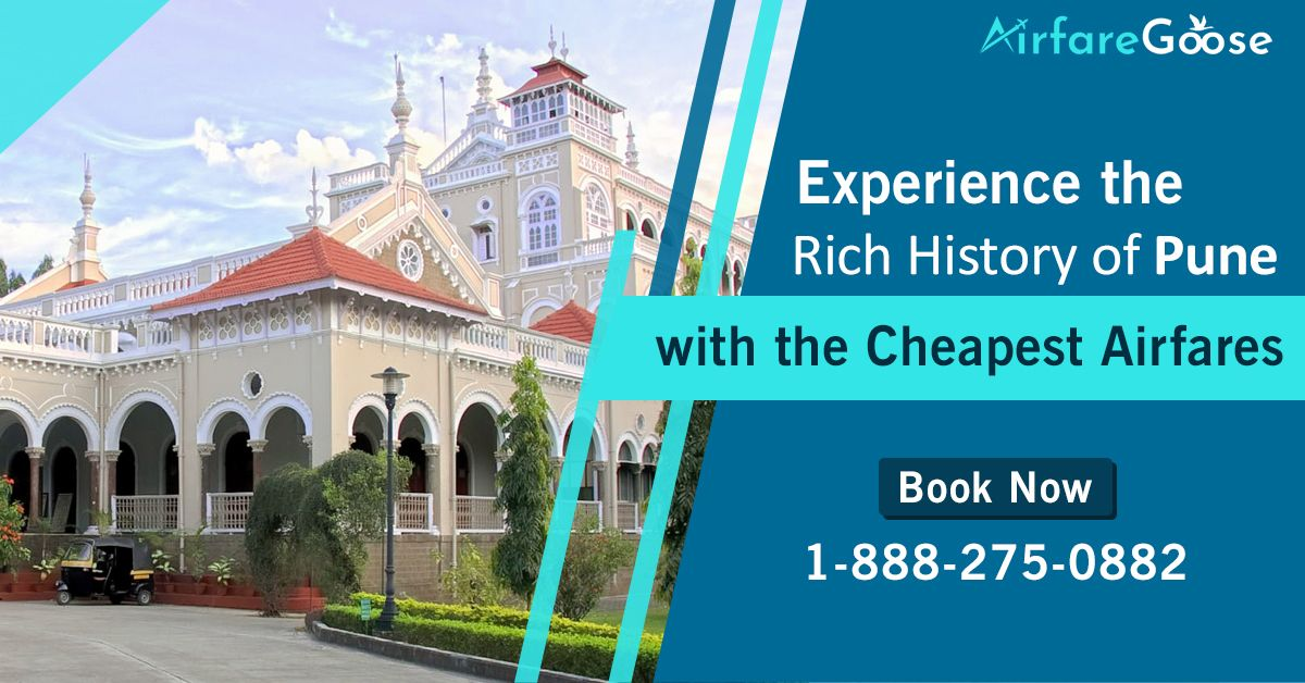 Book flight online from the #USA to #Pune at the lowest airfares. The airline provides other facilities and services to enjoy great customer experience. Hurry! Book Now!  For more information, call us at -1-888-275-0882 (Toll-Free). Or, click the link in bio @airfare_goose.  #Airfaregoose #travel #Tourism #traveltopune #USAtoIndia #CheapFlightDeals #UsatoIndiaFlights #CheapTravelDeals #flightstopune #Booknow