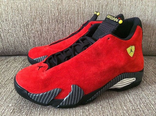 "Air Jordan 14 ""Ferrari"" (Closer Look) 