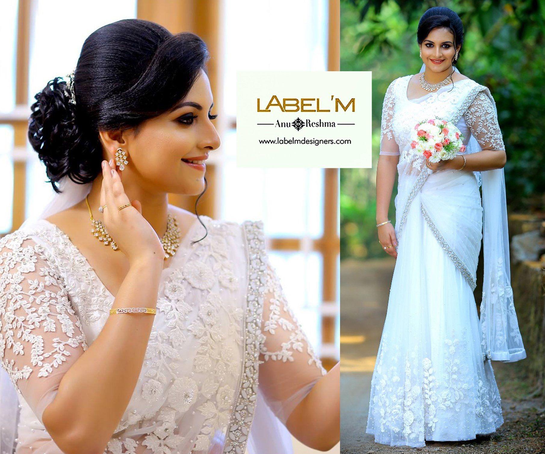 bridal sarees | saree in 2019 | christian wedding sarees