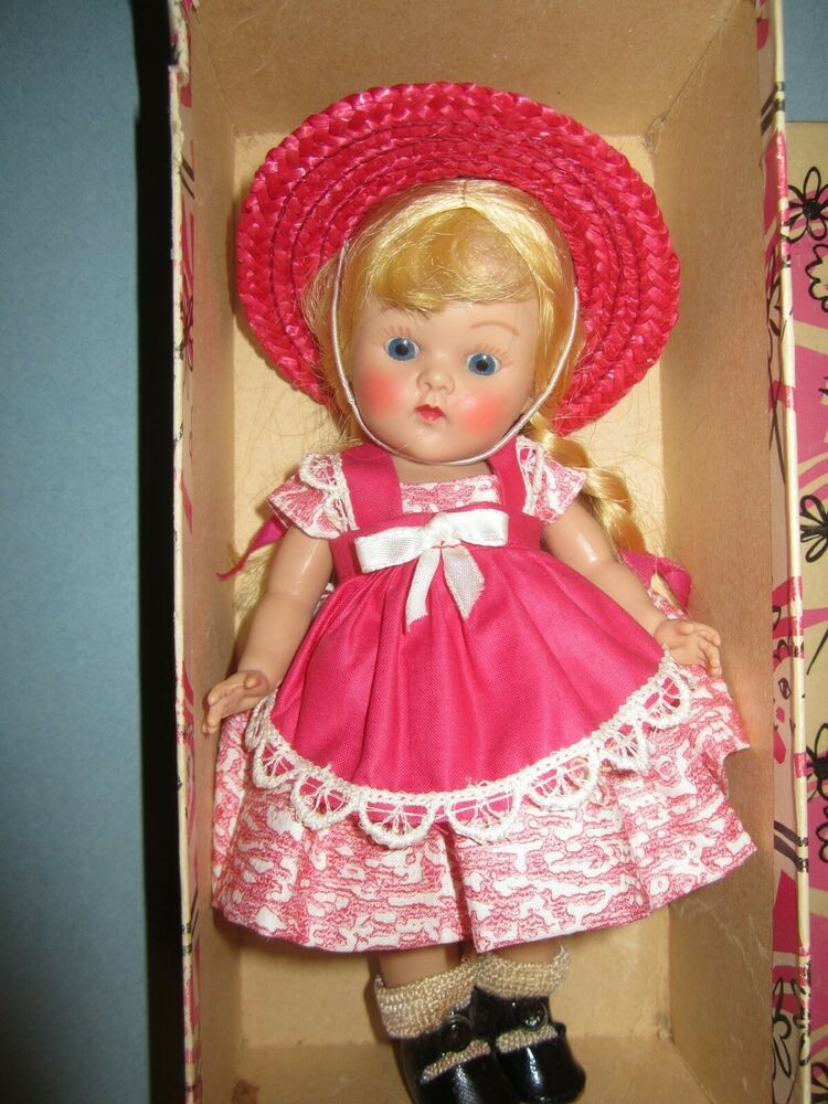 Early vogue 8 strung ginny doll tagged outfit mint in box