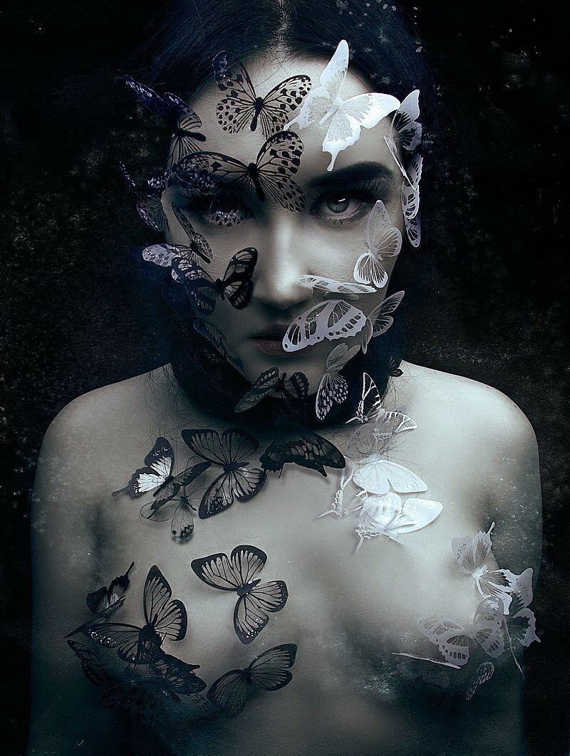 Ana Maria Rios Desnuda natalie shau   dark art photography, art, cute art