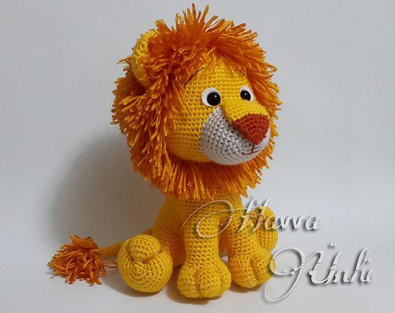 Lion Crochet Pattern Amigurumi : Crochet pattern lion amigurumi amigurumi doll pattern