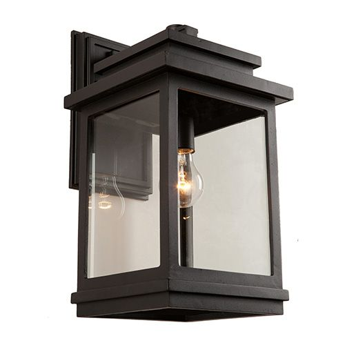 Artcraft Fremont Oil Rubbed Bronze One-Light 7-Inch Wide Outdoor Wall Sconce - Artcraft Fremont Oil Rubbed Bronze One-Light 7-Inch Wide Outdoor
