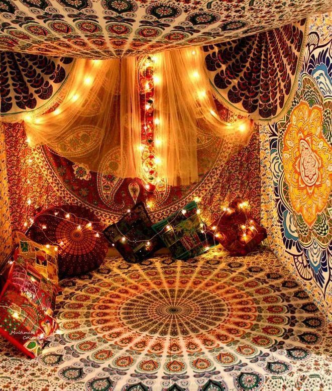colorful bohemian decor #BohemianStyleHomeDécorTips #indischesschlafzimmer colorful bohemian decor #BohemianStyleHomeDécorTips #indischesschlafzimmer
