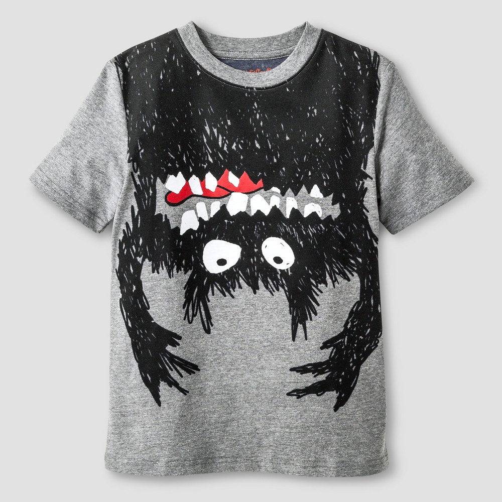 Boys Monster Graphic T Shirt Cat Amp Jack Gray S Boy S