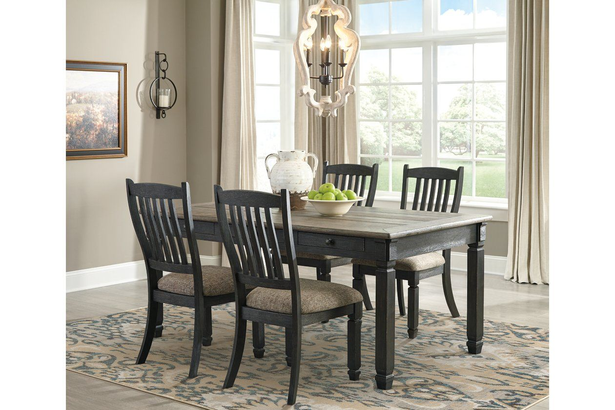 Tyler Creek Dining Table And 4 Chairs Ashley Furniture Homestore Dining Room Table Solid Wood Dining Set Dining Room Sets
