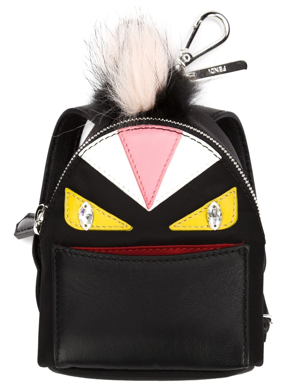 Fendi Backpack Monster Yellow