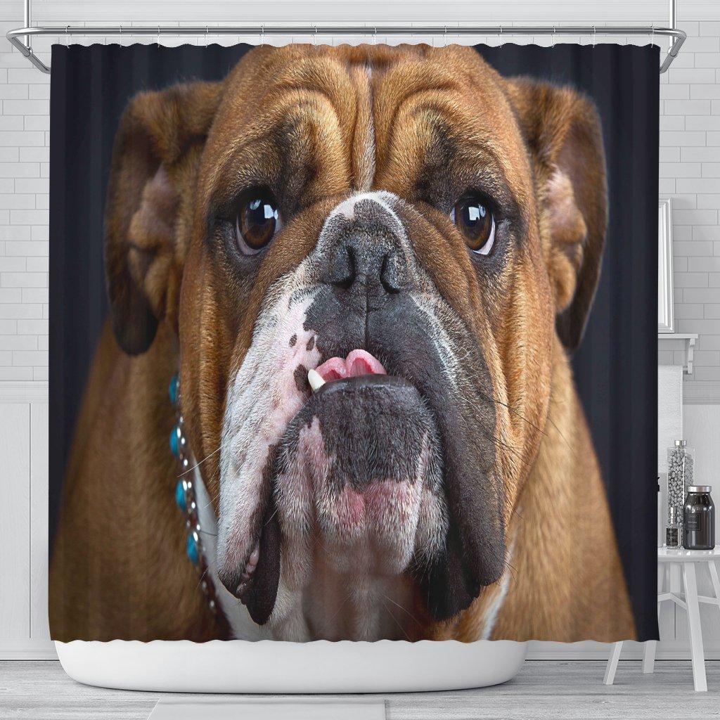 Bulldog Lovers Shower Curtain Bulldog Wallpaper Bulldog Breeds