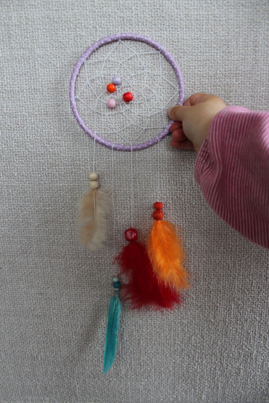 Bastelbedarf Kinder Kids Project No 4 Dreamcatcher Museumsreif Kreativ