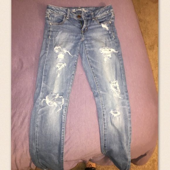 American Eagle Jeans! Skinny Jeggins! Very comfortable and stylish! American Eagle Outfitters Jeans Skinny