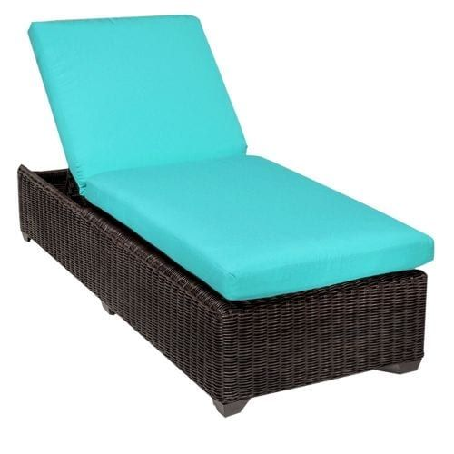 Miseno MPF VNCE1X Mediterranean Aluminum Framed Outdoor Chaise Lounge Chair  (Wheat), Outdoor