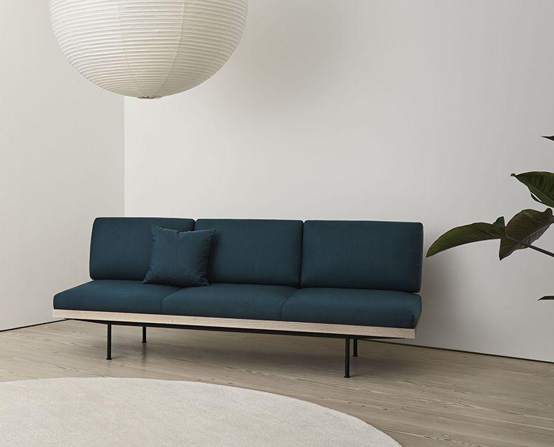 Fantastisk Norm Soffa. Använd som soffa eller dagbädd. Minimalistisk design AG-09