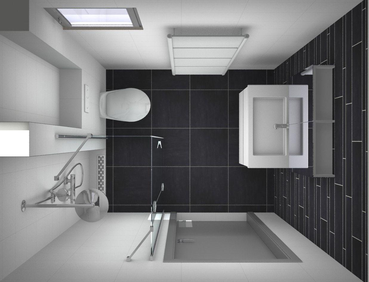 Ontwerp kleine #badkamer. Alles over kleine badkamers op http ...