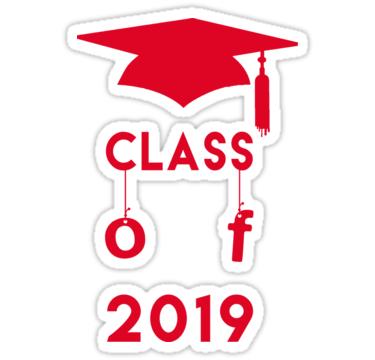 Class Of 2019 Graduation Sticker Stickers Quotes Slogan 2019 2019 Classof2019 Highschoolgrad Highschoolgra Graduation Stickers Class Of 2019 Logo Items