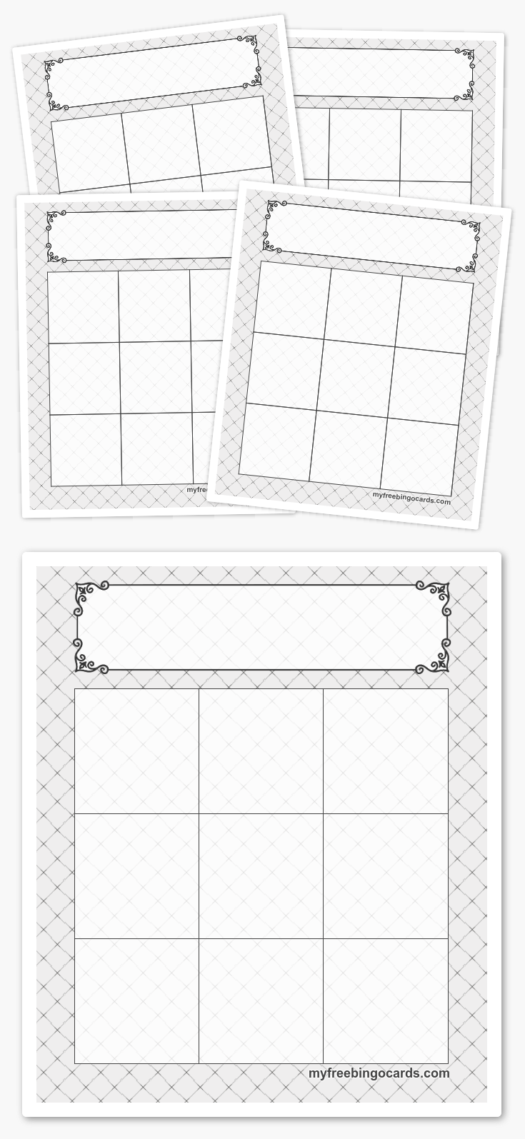 3x3 bingo templates cards | Pinterest | Schule