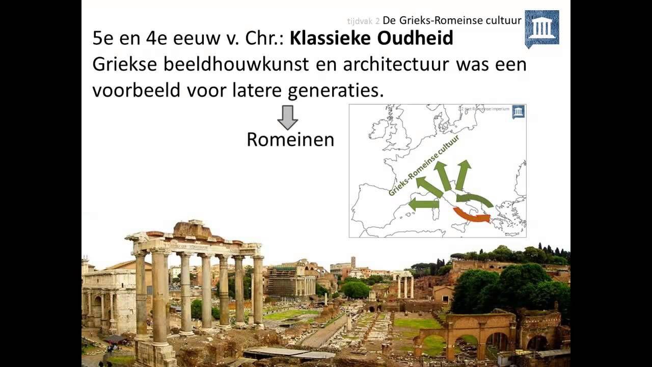 2. De Grieks-Romeinse cultuur