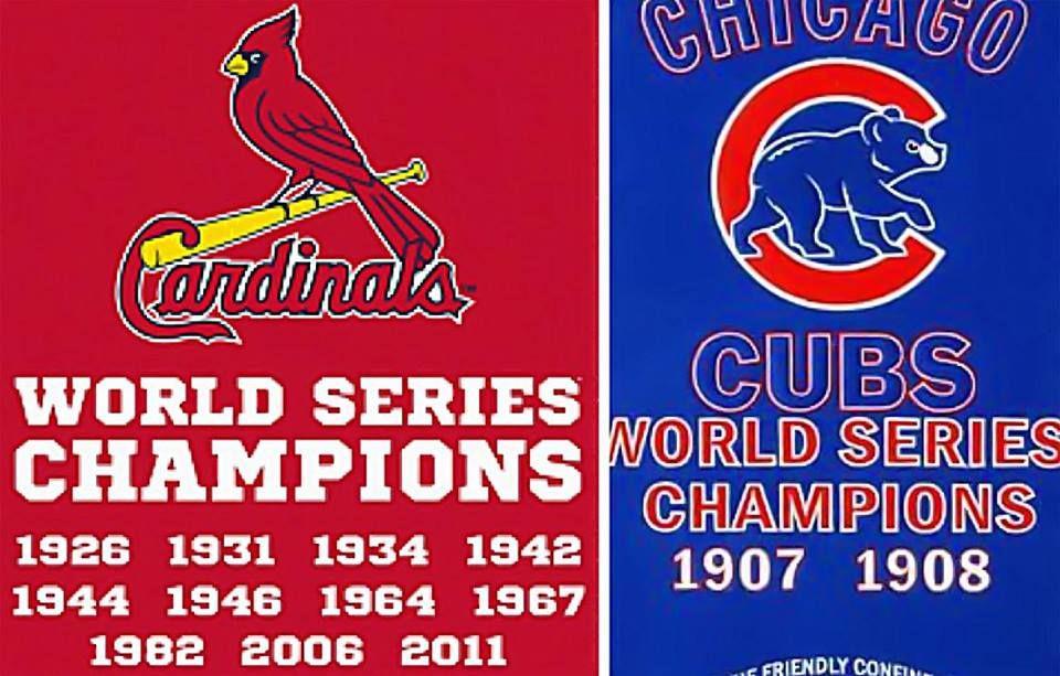Cards vs cubs cardinals world series cubs cubs world