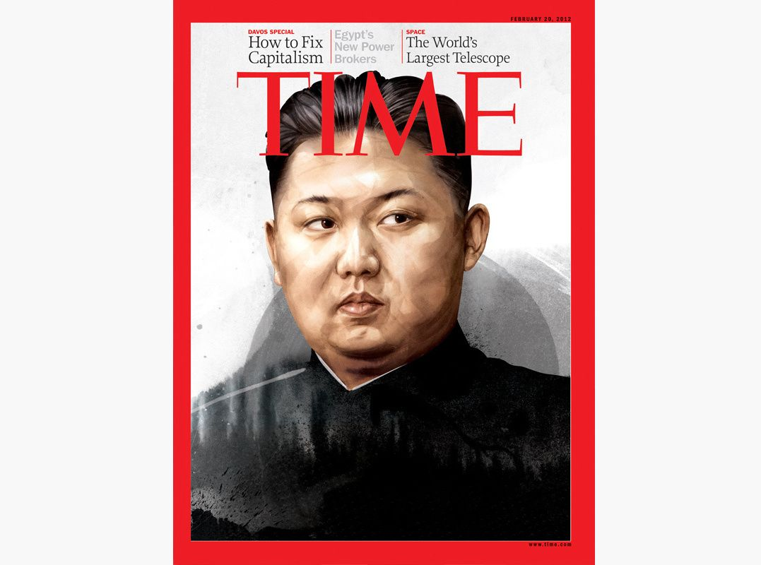 HelloVon Studio www.hellovon.com Leading portrait illustrator. Kim Jong-un for cover of Time Magazine. Illustration, contemporary, atmospheric, modern, motion, portrait, painting, ink, celebrity, hero, iconic