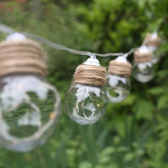 Guirlande Swing 10 Ampoules De 5 Mini Led 180cm En 2020 Guirlande Decoration Plante Guirlande Solaire