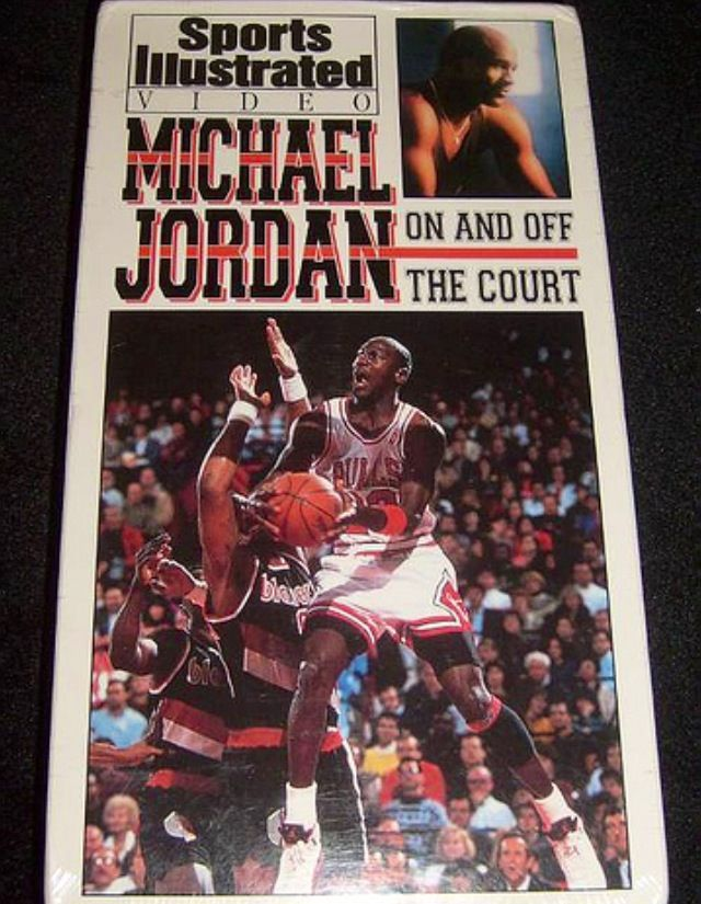 Michael JordanOn and Off the Court VHS tape by SI
