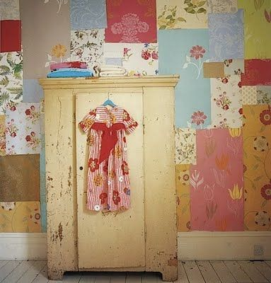 Modern Patchwork Wall Decorating, 30 Amazing Accent Wall Design ...