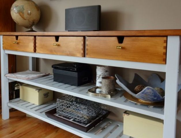 25 Ways To Use And Hack Ikea Norden Buffet Digsdigs Table Decor Living Room Home