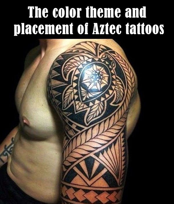 Colorful Aztec Tattoos Designs 30 Best Ideas About Aztec Tattoo Designs Aztec Tattoos Tattoo Designs And More
