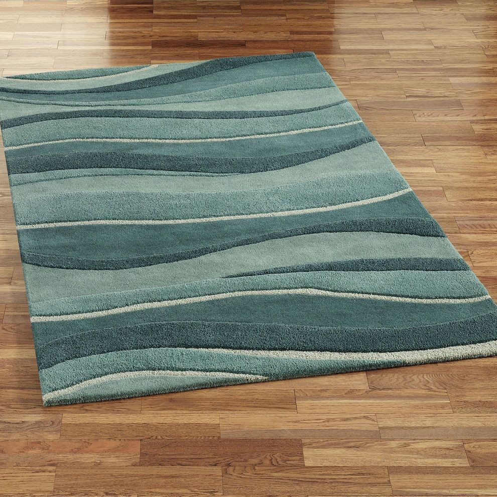 49 Beautiful Beach And Sea Themed Bedroom Designs: Peaceful And Quiet Beach Themed Area Rugs