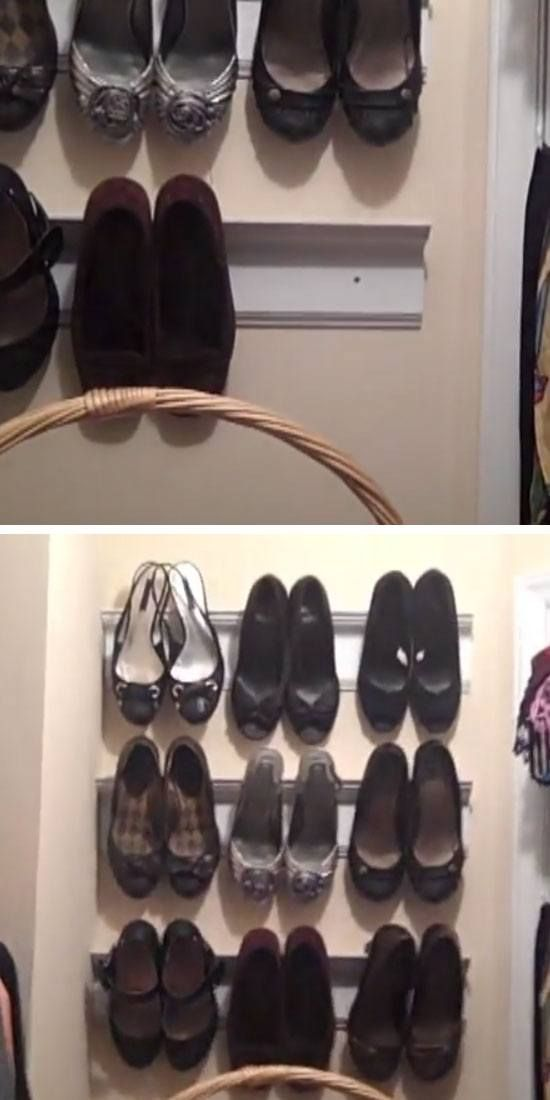 22 DIY Shoe Storage Ideas for Small