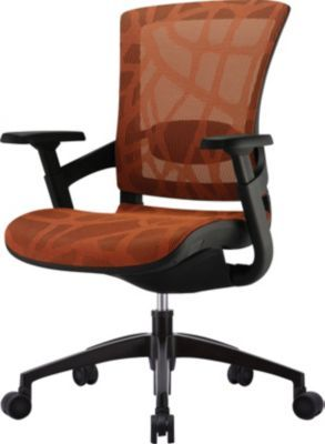 Staples Has The Skate Burnt Orange Mesh Ergonomic Chair W Black Frame You Need For Home Office Or Business F Office Chair Ergonomic Chair Mesh Office Chair