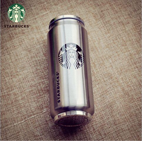 500ml Stainless Steel Double Wall Vacuum Flask Coffee Mug