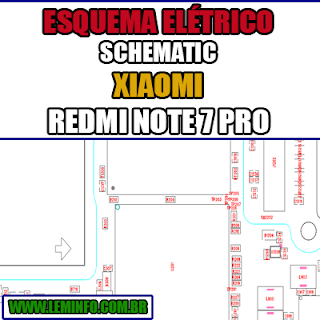Esquema Eletrico Manual De Servico Celular Smartphone Xiaomi Redmi Note 7 Pro Schematic Service Manual Diagram Cell P Celular Smartphone Smartphone Esquema