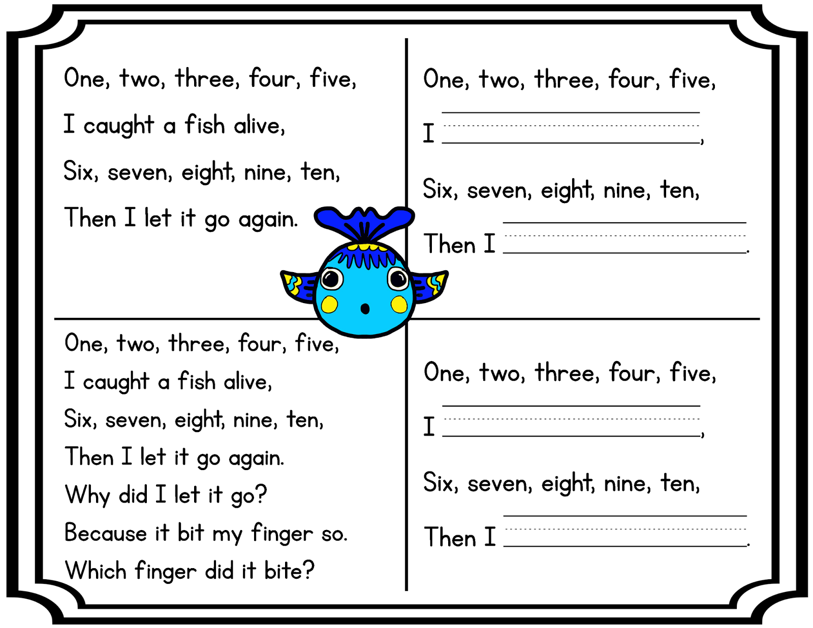 Poetry Freebie Help Your Students Read With Fluency